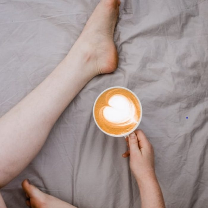 café coeur rognée